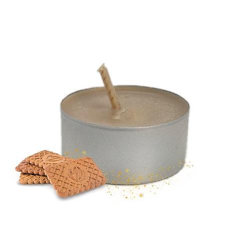 Lot de bougies chauffe-plats Spéculoos