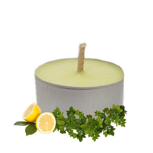 Lot de bougies chauffe-plats Citron & Verveine