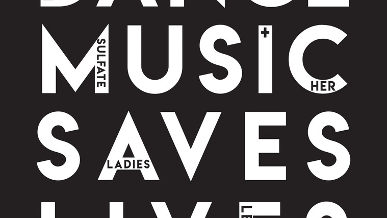 Dance Music Saves Lives Cover Web Image.
