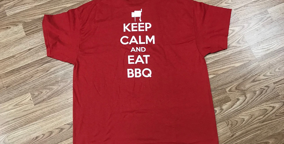 Keep Calm And Eat BBQ Shirt