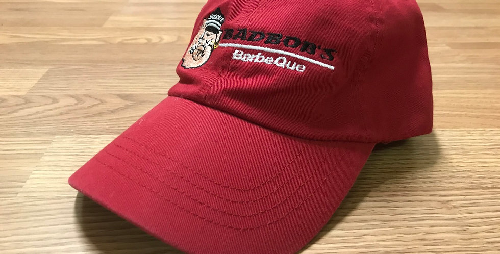 BadBob's Red Baseball Cap
