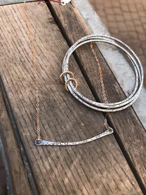 Bangle and Necklace Set