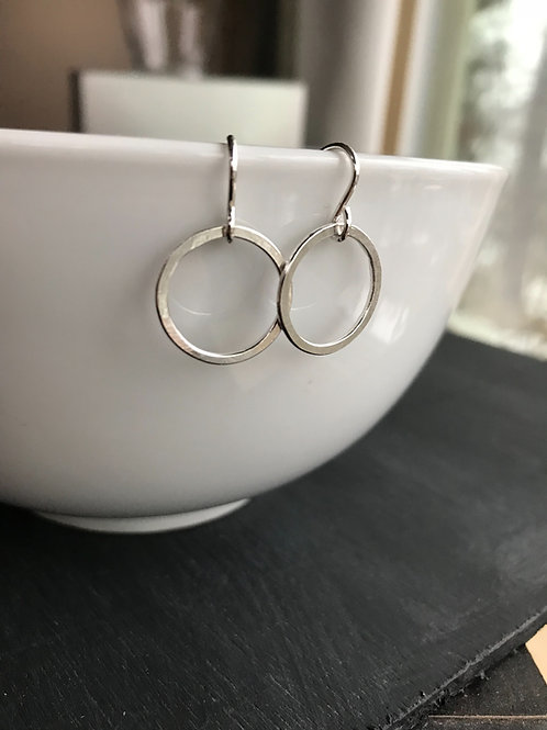 Small Hoop Earring Silver/Gold