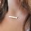 Thumbnail: WHSL Custom Bar Necklace