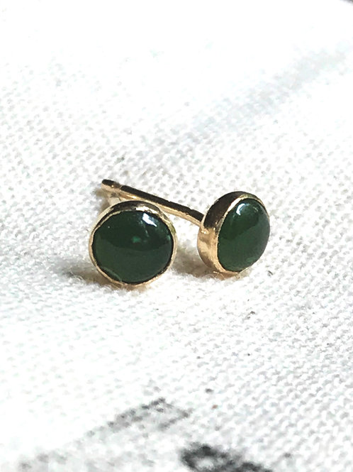 WHSL Jade Stud Earrings