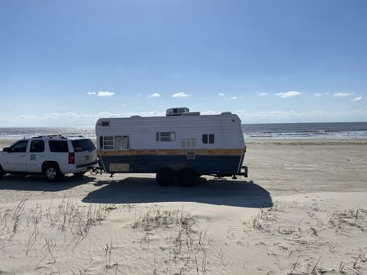 Mobile Studio on the Beach