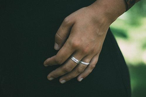 Argentium Silver Stacking Ring