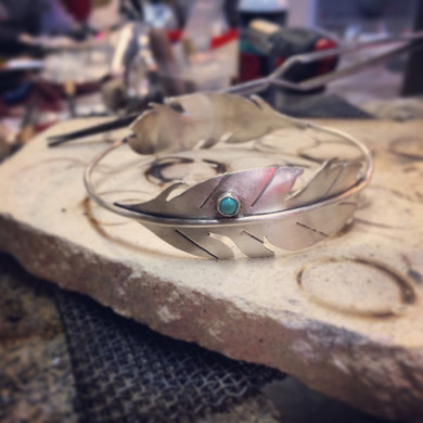 Bench - Bangle - Feather