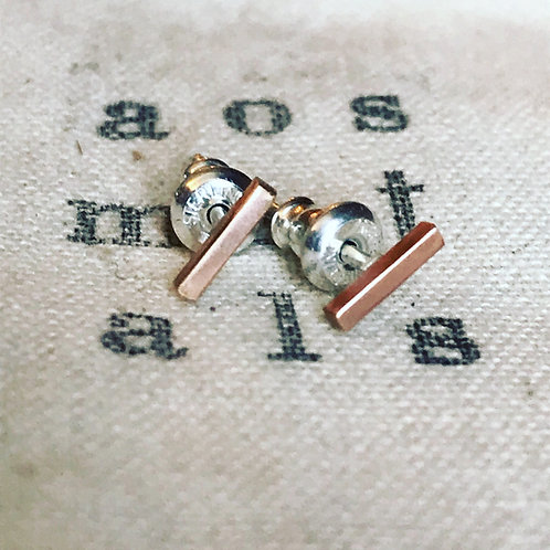 WHSL Bar Studs silver/gold/rose