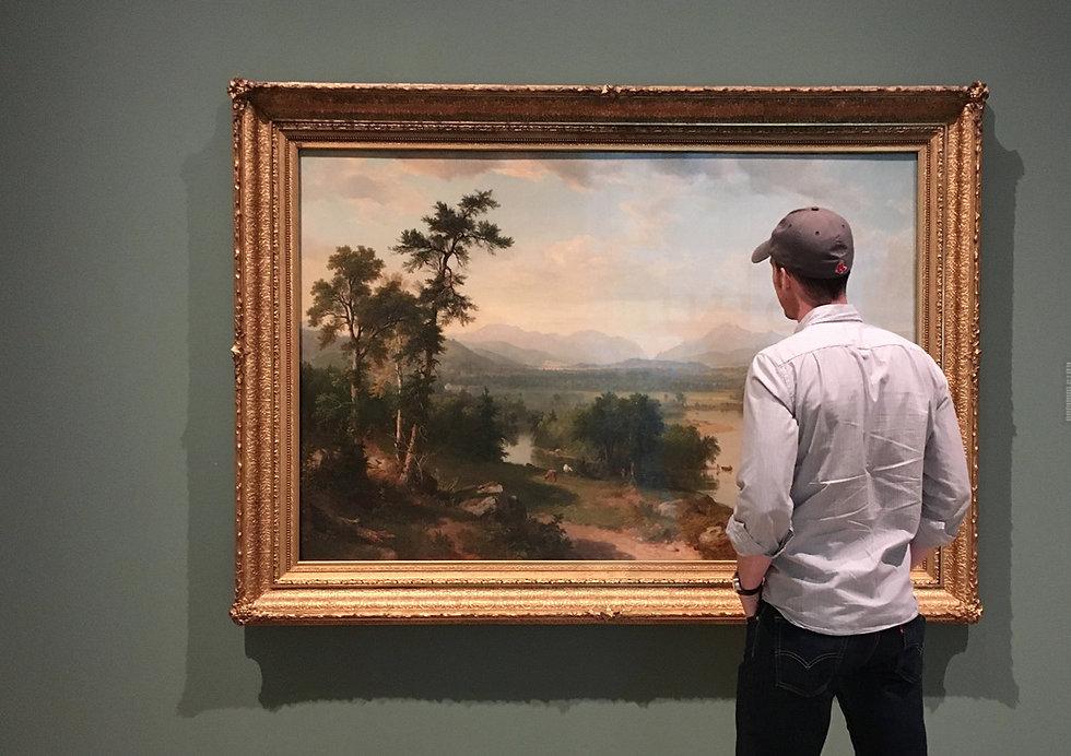Landscape painting New England