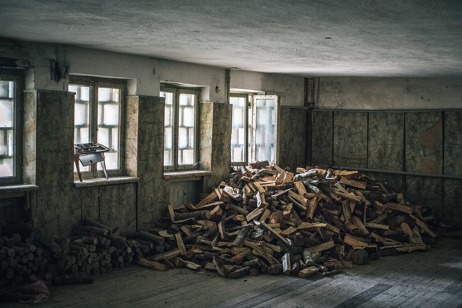 Abandoned Soviet Sanatorium architecture buildings in Tskaltubo Georgia by photographer Ryan Koopmans