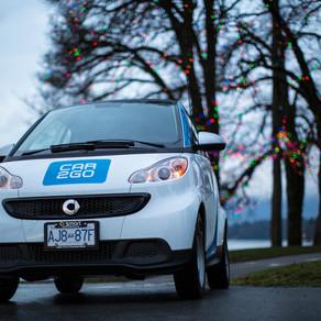 SMART Car - Car2Go Vancouver