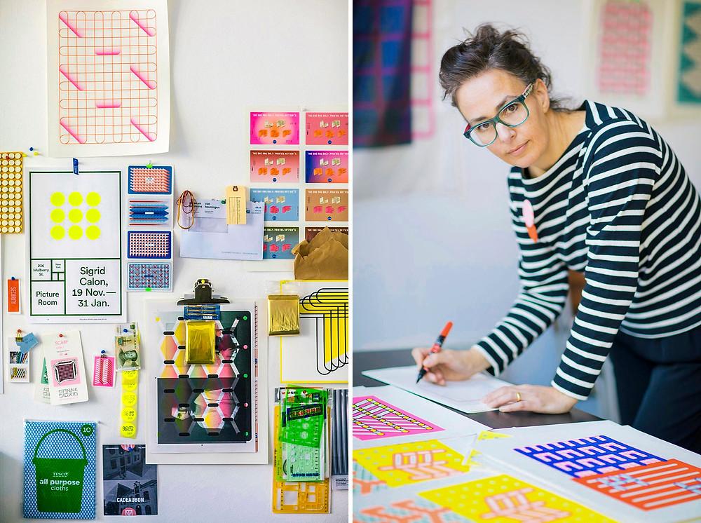 Uniqlo Sigrid Calon SIREN Creatives Netherlands Studio Artist