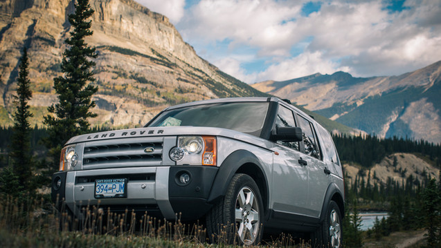 Rocky Mountains - Landrover LR3