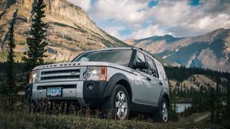 Rocky Mountains - Landrover LR3