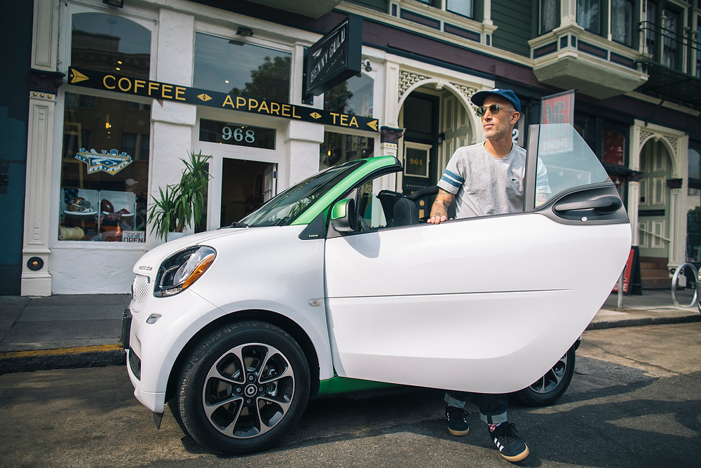 benny gold smart magazine siren creatives san francisco california editorial photographs feature smart car