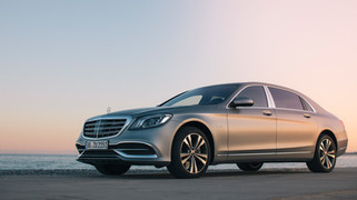 The Alps - Maybach S560
