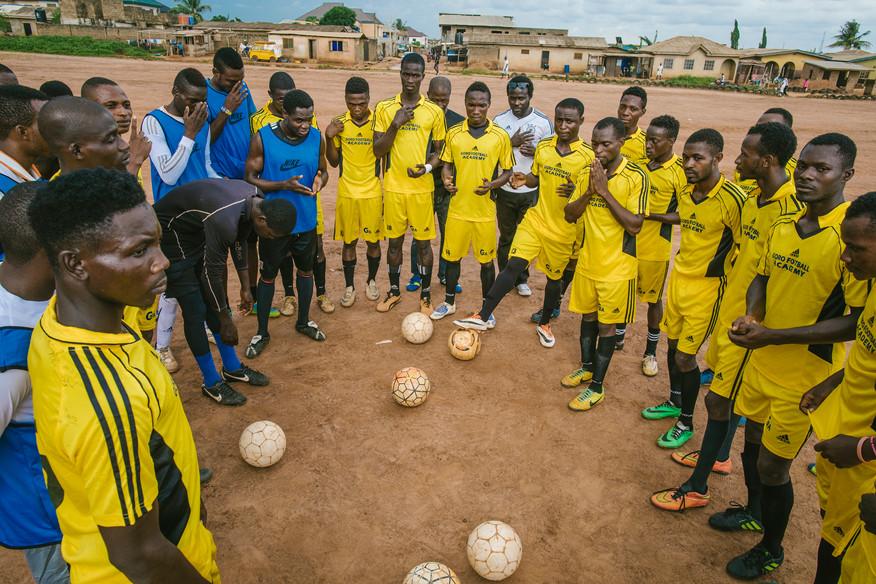 Nigeria For The German Football League