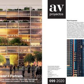 Feature in Arquitectura Viva Magazine