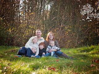 O. Family {Aldergrove Family Photography}