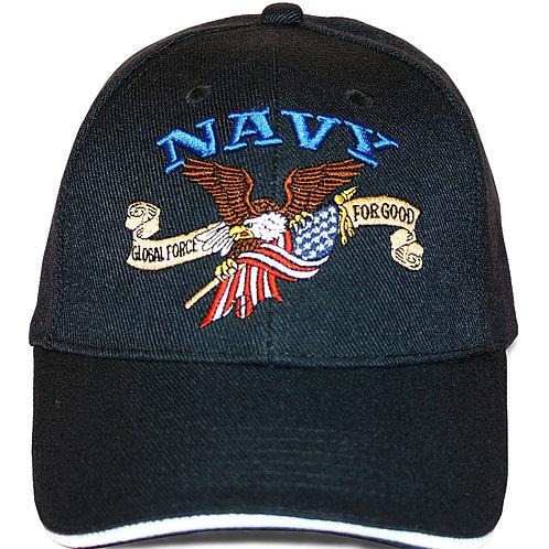 Navy, Congressional Eagle cap