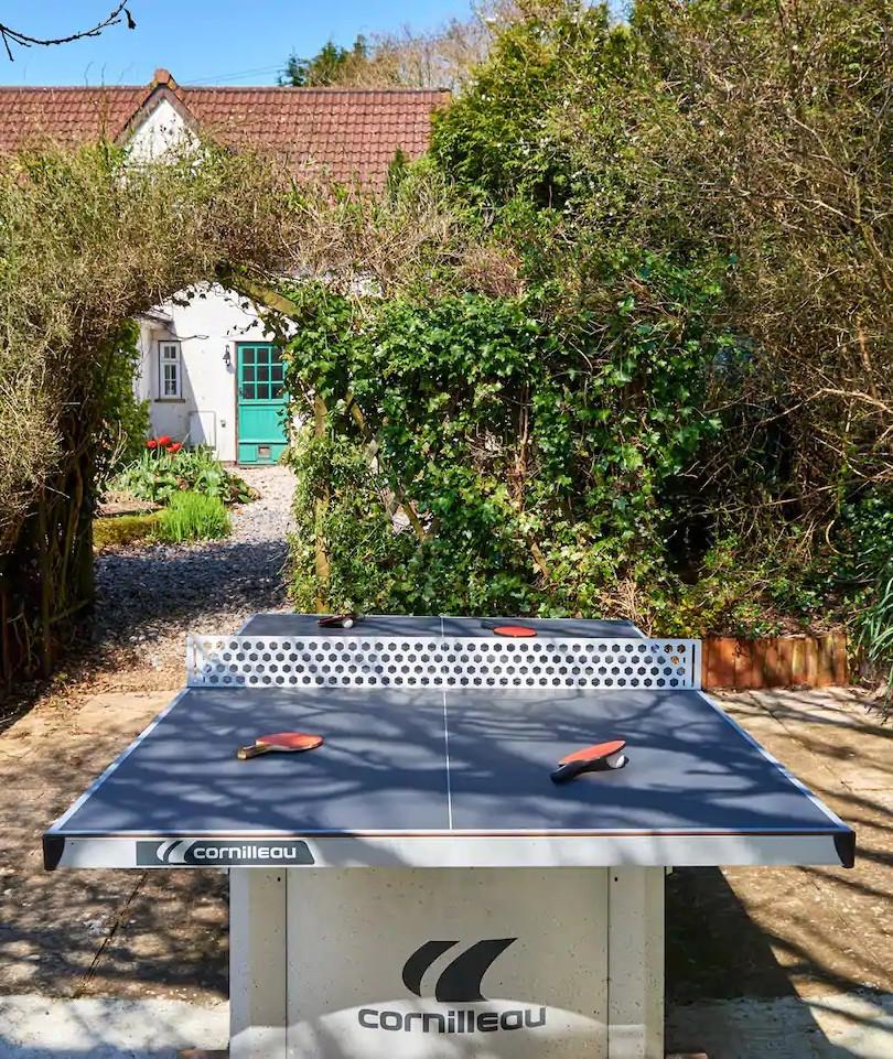 Floodlit Table Tennis
