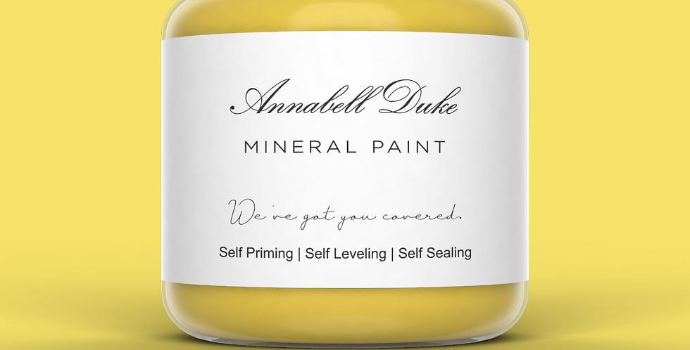 Annabelle Duke Mineral Paint - New England Yellow