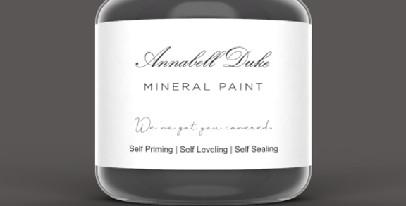 Annabell Duke Mineral Paint - Charcoal