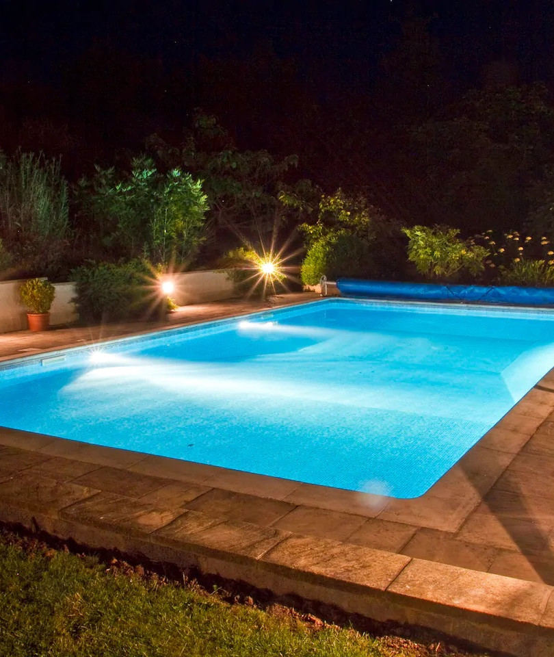 Large outdoor pool
