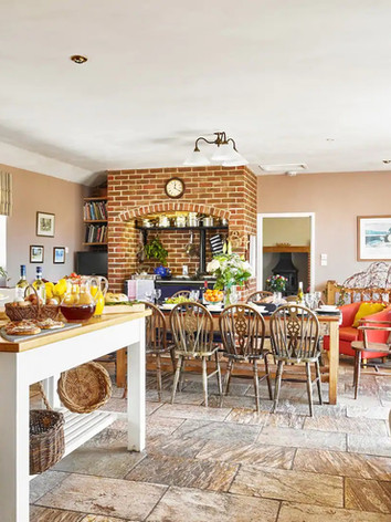 Very large-airy convivial kitchen