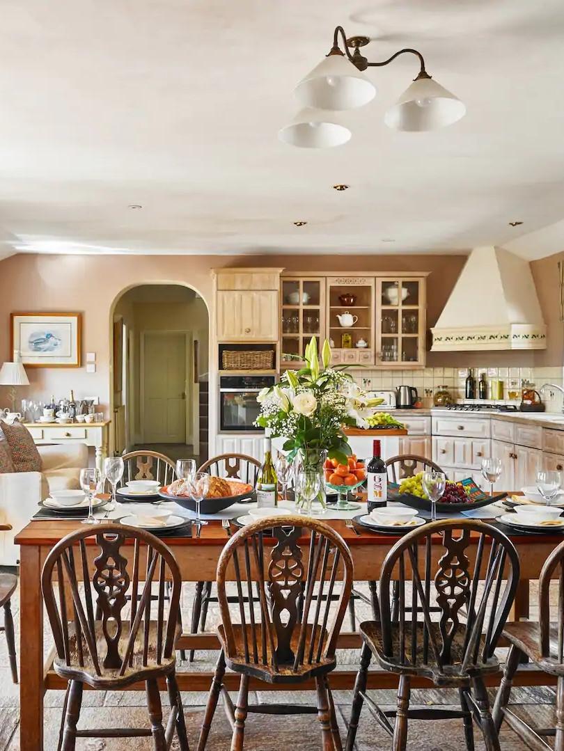 Large convivial kitchen