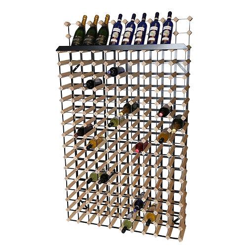 160 Bottle Wine Rack Light Pine