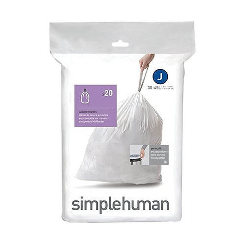Code J Custom Fit Bin Liners (Pack of 20)