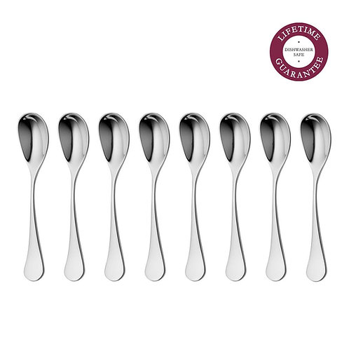 Ashbury Bright Coffee Spoon x8