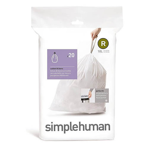 Code R Custom Fit Bin Liners (Pack of 20)