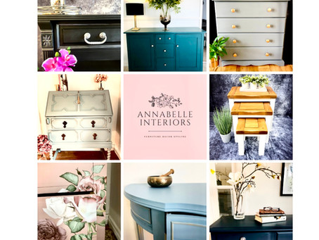 Furniture transformed using our amazing paint range