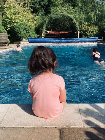 Homecroft pool and hammock