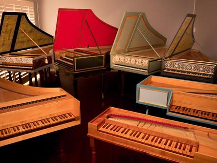 Antique Photography - Harpsichords