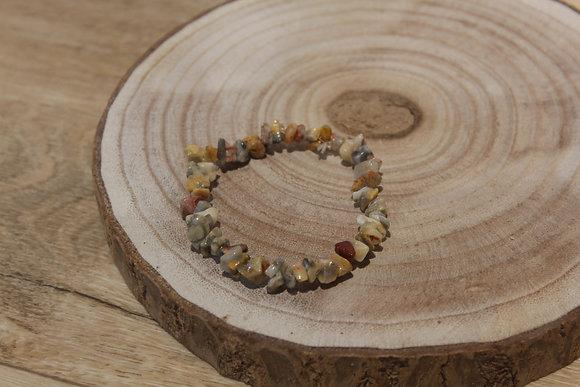 Bracelet barroque Agate lace
