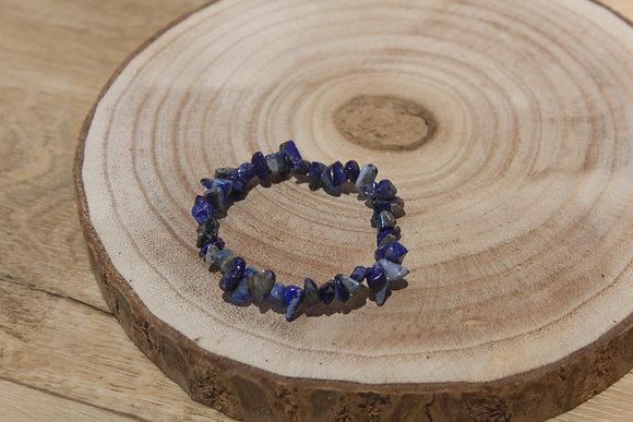 Bracelet barroque lapis lazuli