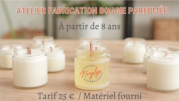 """""""Bougie parfumée"""" Vendredi 15 Octobre à 13h"""