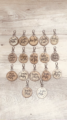 """Portes clés """"Famille"""""""