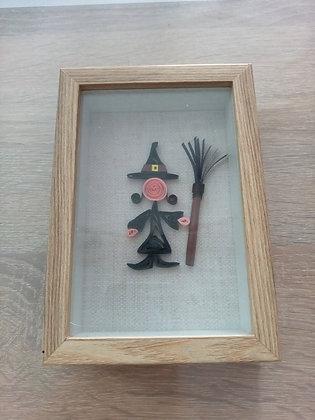 """"""" Cadre de sorcière pour Halloween"""" Mercredi 27Octobre 2021"""