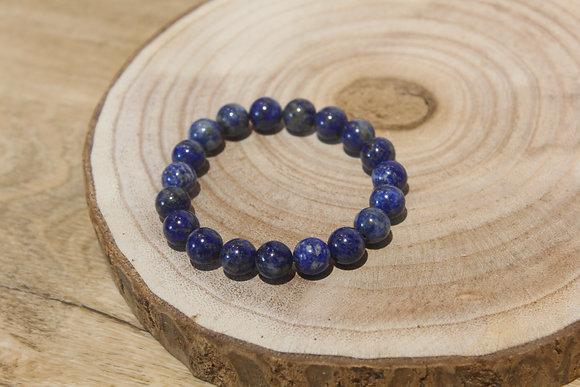 Bracelet lapis lazuli 10mm