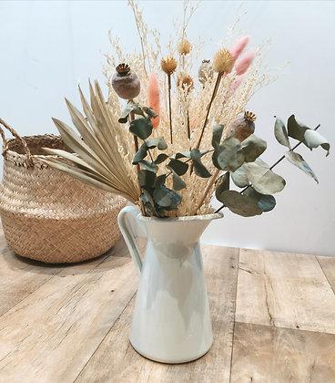 Vase et bouquet