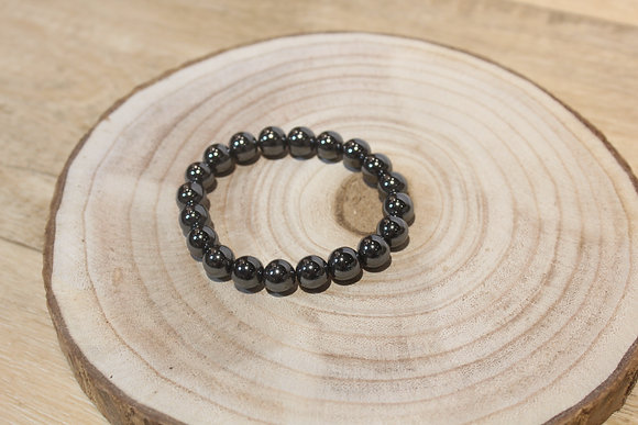 Bracelet hématite 10mm