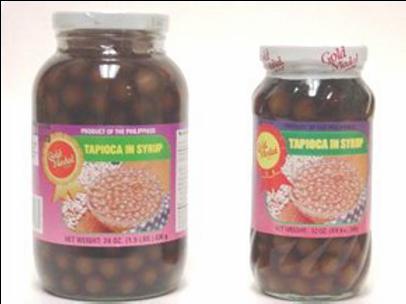 Tapioca in Syrup Caramel ITEM ID: 1124