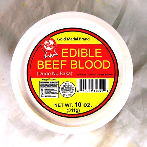 Beef Blood ITEM ID: 3402-A