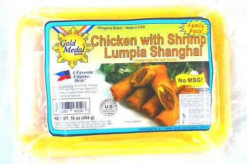CHICKEN with SHRIMP Lumpia Shanghai ITEM ID: 3366