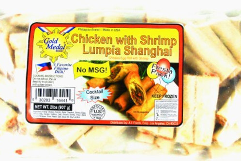 CHICKEN with SHRIMP Lumpia Shanghai ITEM ID: 3300-U